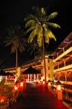 Zone lumineuse de relaxation d'hôtel de luxe images libres de droits