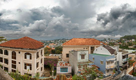 Zone résidentielle dans Dalat Images stock