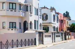 Zone résidentielle de villas Photos stock