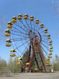 Zone of radioactive. Ukrainian city of Pripyat. Royalty Free Stock Image
