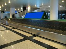Zone reçue de bagage Image stock