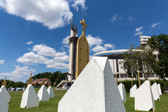Zone of Reconciliation at the Sanctuary of Divine Mercy in Lagiewniki Stock Photography