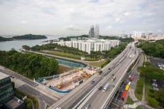 Zone residenziali di Singapore. Immagine Stock Libera da Diritti