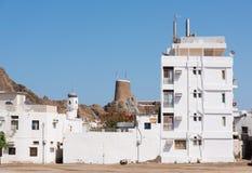 Zone résidentielle dans Muscat, Oman Photographie stock libre de droits