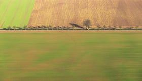Zone rurale dans la région de Kyffhaeuser dans Thuringe Image stock