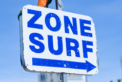 Zone of Surf Stock Photo