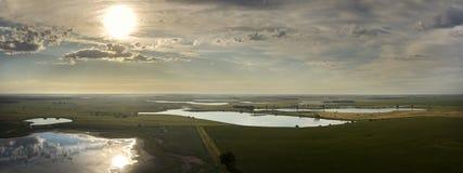 Zone umide del Sud Dakota Fotografia Stock Libera da Diritti