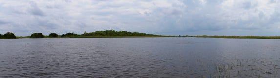 Zone umide nel parco nazionale dei terreni paludosi Fotografia Stock Libera da Diritti