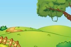 Zone vide illustration de vecteur