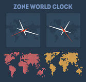 Zone World time Stock Photos