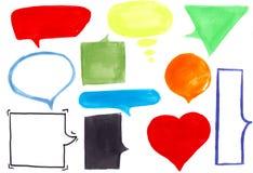 Zones de dialogue Photos stock