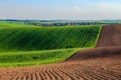 Zones de Moravian Image stock