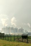 Zones industrielles hollandaises Photo libre de droits