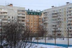 Zones résidentielles Photos libres de droits