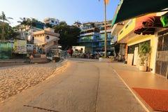 Zones résidentielles de Yung Shue Wan photographie stock