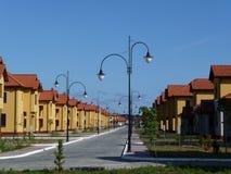 Zones résidentielles neuves. Images stock