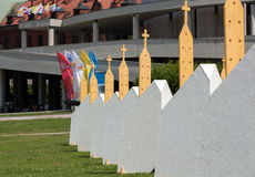 Zones of Reconciliation at the Sanctuary of Divine Mercy in Lagiewniki Royalty Free Stock Image