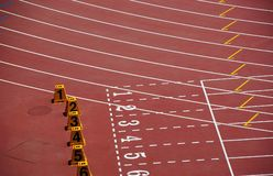 Zones sportives Images libres de droits