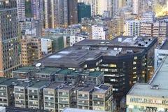 Zones urbaines de Hong Kong Image libre de droits