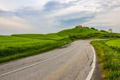 Zones vertes en Toscane photos stock