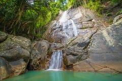 Zong Raue Waterfall on Koh Samui, Thailand