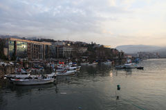Zonguldak cÄ°ty στην Τουρκία Στοκ εικόνα με δικαίωμα ελεύθερης χρήσης