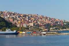 Zonguldak City and Port Royalty Free Stock Image