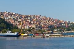 Zonguldak City and Port Royalty Free Stock Image
