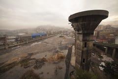 Zonguldak som är cÄ°ty i Turkiet Royaltyfria Foton