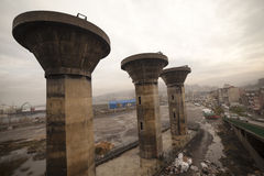 Zonguldak som är cÄ°ty i Turkiet Fotografering för Bildbyråer