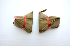 Zongzi中国人食物 免版税库存照片