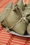 Zongzi (bolas de masa hervida del arroz) Fotos de archivo libres de regalías