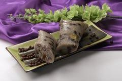 Zongzi (bolinhos de massa do arroz) Imagens de Stock