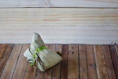 Zongzi Chang na drewnianym tle lub Bak Obraz Royalty Free