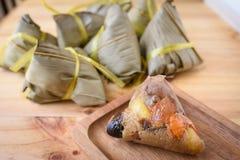 Zongzi - Chinese food Stock Photo