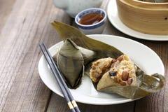 Zongzi, chinese rice dumpling Royalty Free Stock Photo