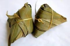 Zongzi, polpetta del riso appiccicoso Fotografie Stock