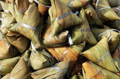 Zongzi,sticky rice dumpling Stock Images