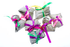 Zongzi or sticky rice dumpling Royalty Free Stock Images