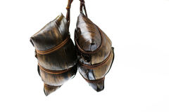 Zongzi, traditional Chinese food usually prepared for Dragon Boa Stock Images