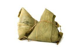 Zongzi - Traditional chinese rice dumpling Stock Photos