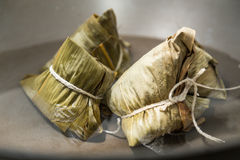 Zongzi in a wok Stock Photography