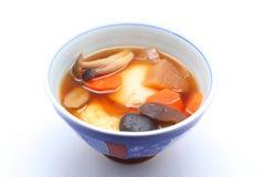 Zoni. Alimento japonés Fotos de archivo