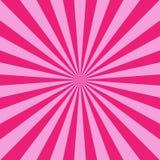 Zonlicht abstracte achtergrond De heldere roze achtergrond van de kleurenuitbarsting vector illustratie