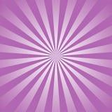 Zonlicht abstracte achtergrond purple en van de lavendelkleur uitbarstingsachtergrond Vector illustratie De straal van de zonstra vector illustratie
