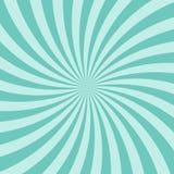 Zonlicht abstracte spiraalvormige achtergrond De gouden gele achtergrond van de kleurenuitbarsting met sterren vector illustratie