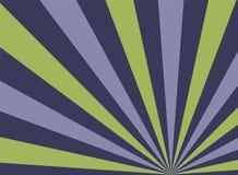 Zonlicht creatieve horizontale achtergrond De purpere, violette en groene achtergrond van de kleurenuitbarsting vector illustratie