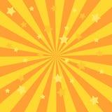 Zonlicht retro langzaam verdwenen grunge achtergrond de achtergrond van de blauwe en rode kleurenuitbarsting Vector illustratie D stock illustratie