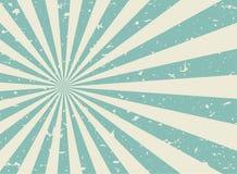 Zonlicht wijd retro langzaam verdwenen grunge achtergrond de groene en beige achtergrond van de kleurenuitbarsting stock illustratie