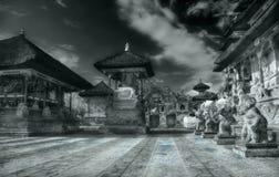 Zonne architectuur Bali Royalty-vrije Stock Afbeeldingen